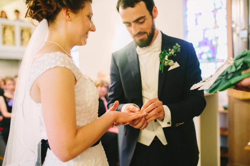 Rin Übergabe Hochzeit
