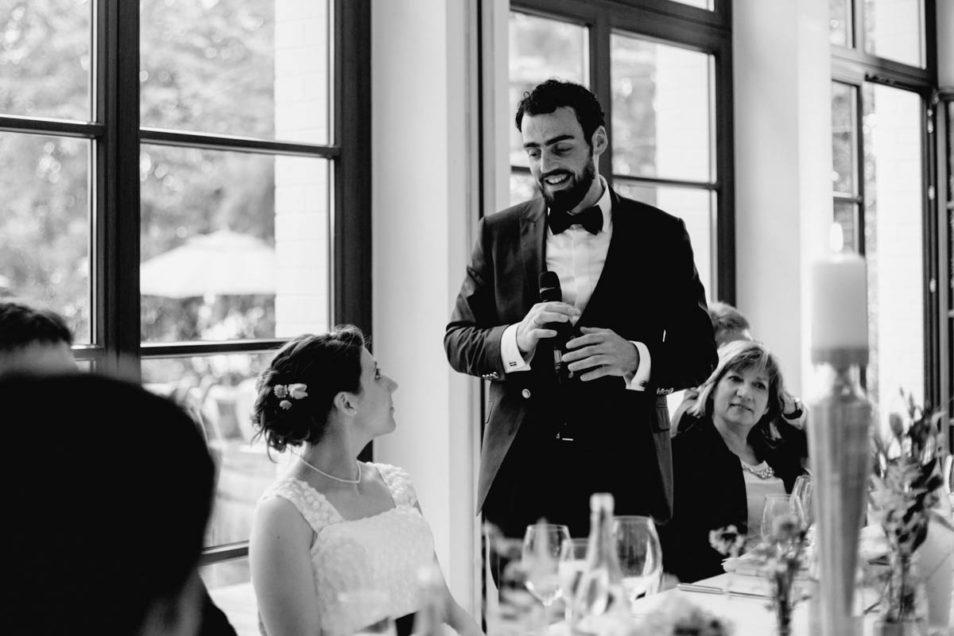 Ansprache Bräutigam
