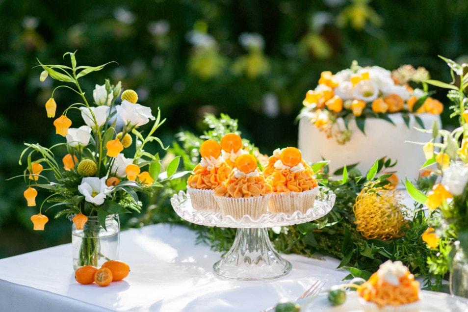 cupcakes mit Orangen Geschmack