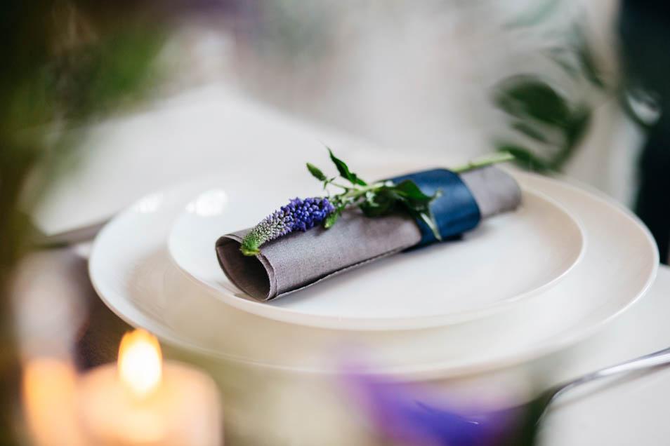 schönes Hochzeitsdetail