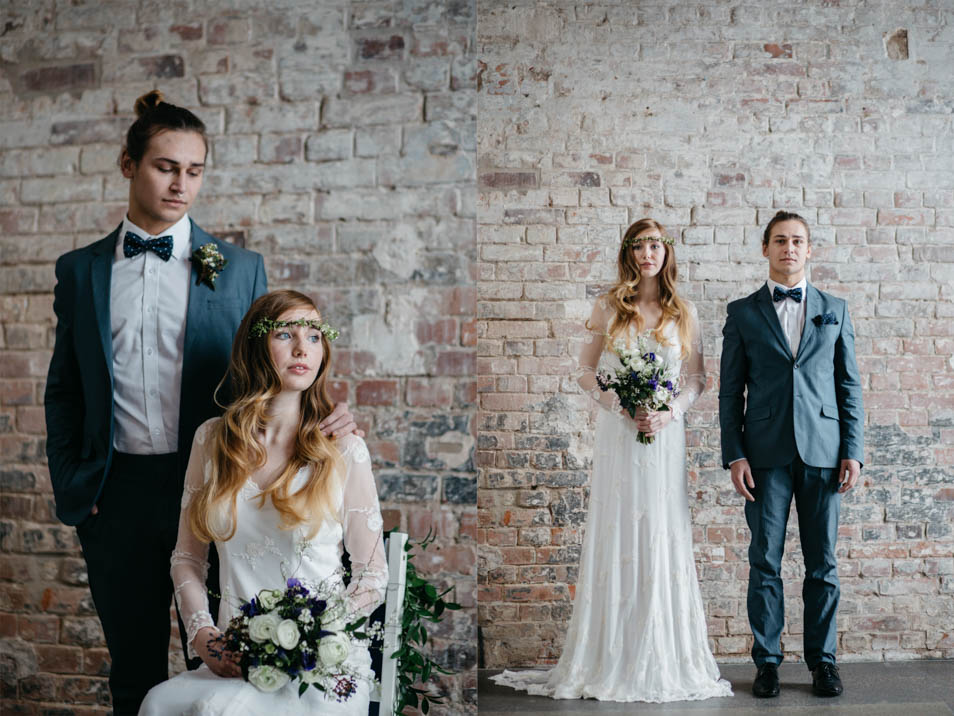 Brautpaar Portraitfoto