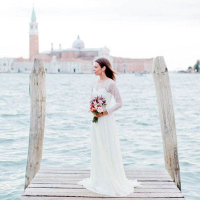 Destination Wedding – ein Brautkleid in Venedig