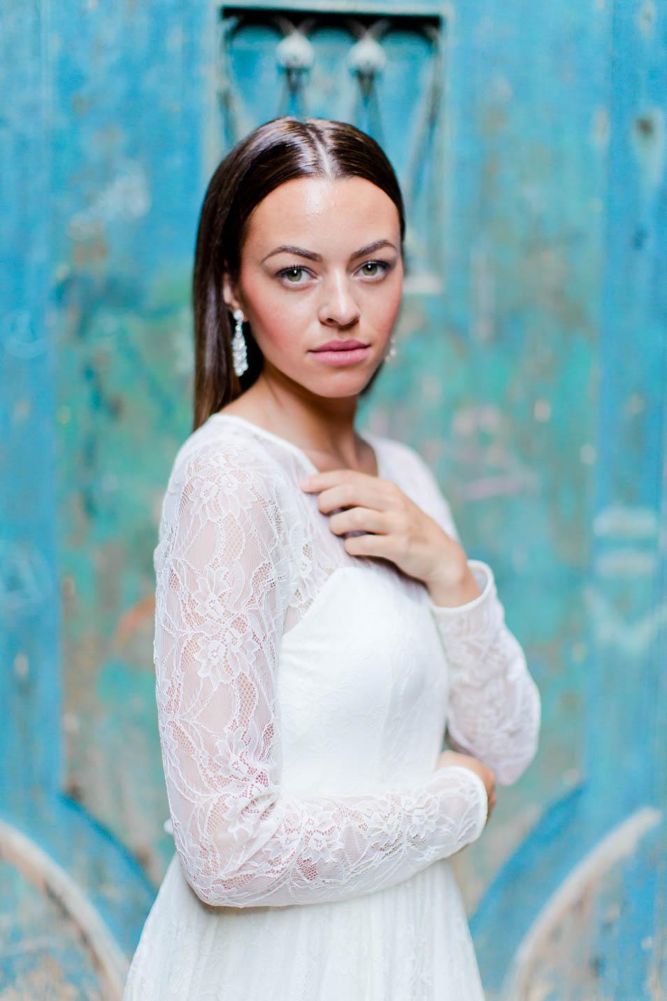 Portrait einer wundervollen Braut