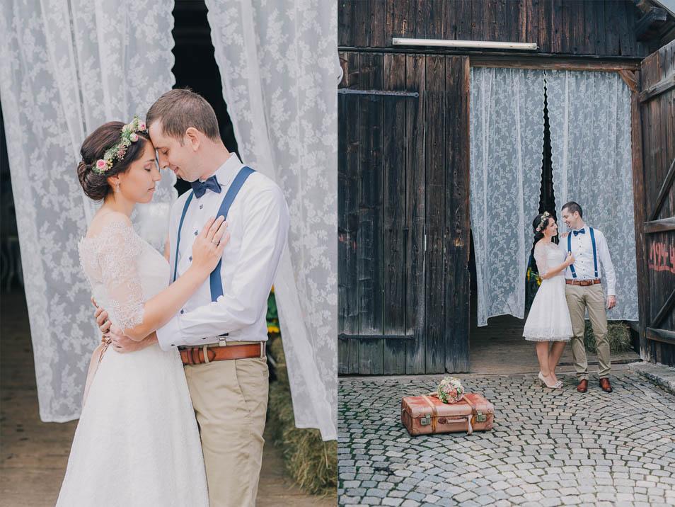DIY Hochzeit in Scheune