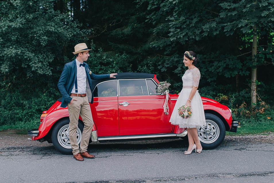 VW Käfer als Hochzeitsauto