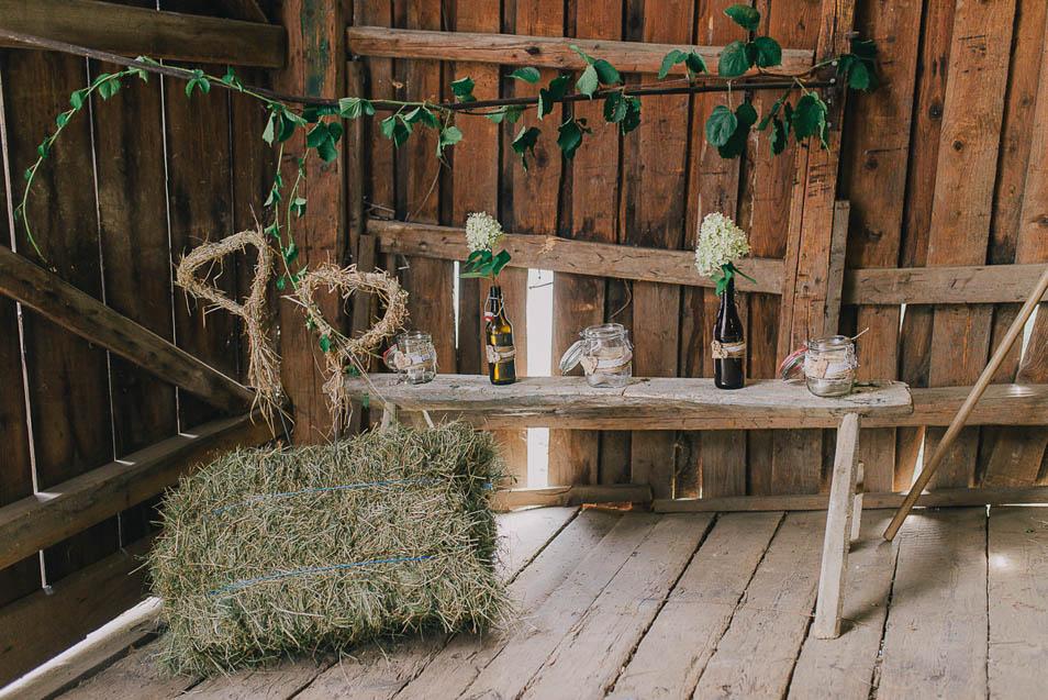 DIY Deko für die Heirat