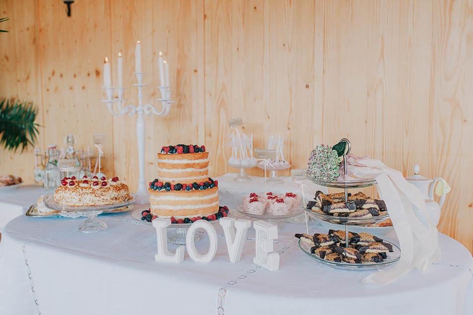 DIY Candybar auf der Hochzeit