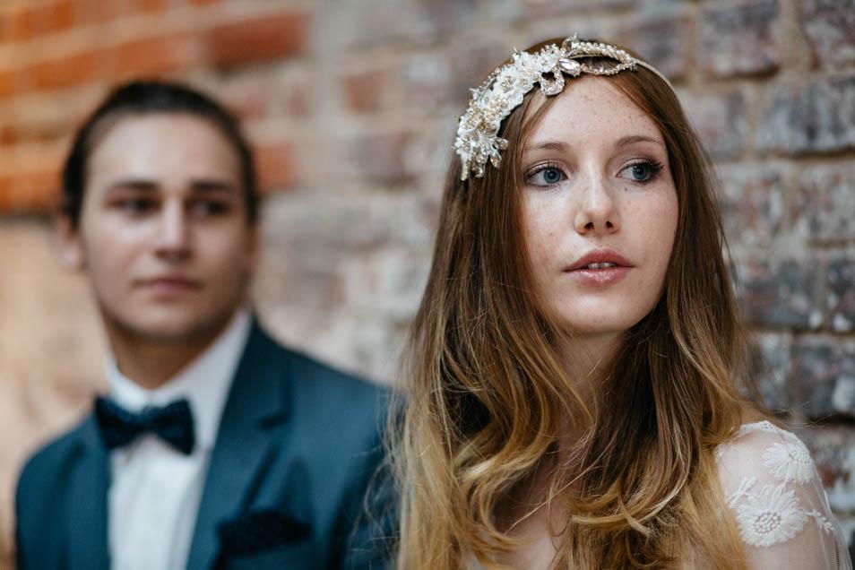 Hochzeitsinspiration blau und weiß