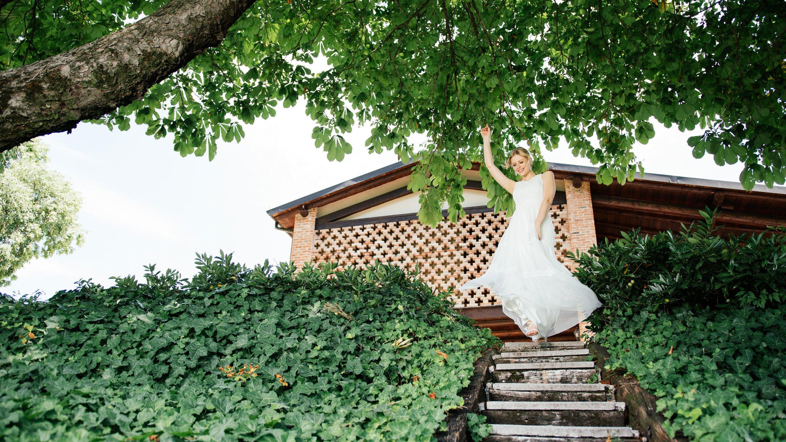 Boho Hochzeitskleid Party
