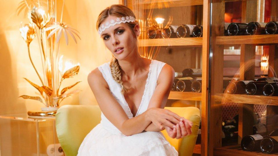 Brautkleid Hippie Style Dana