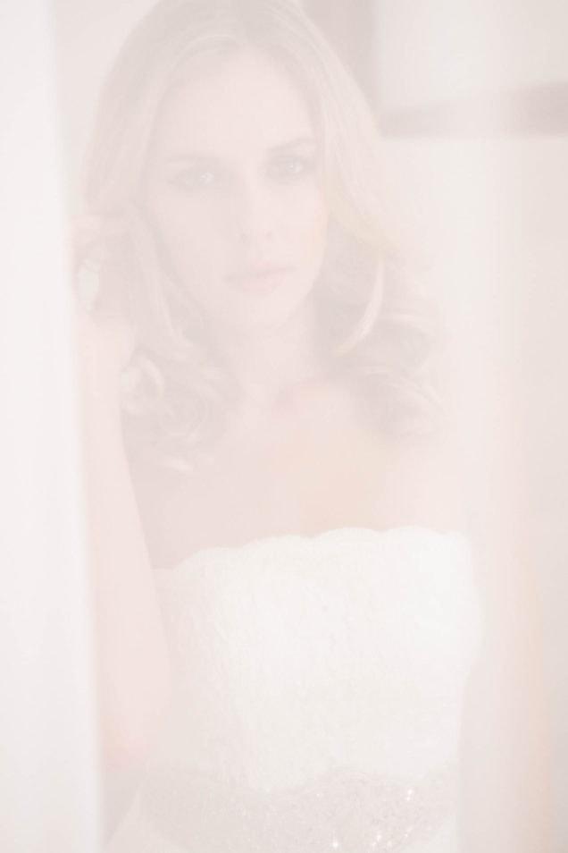 Brautkleid in softer Spitze