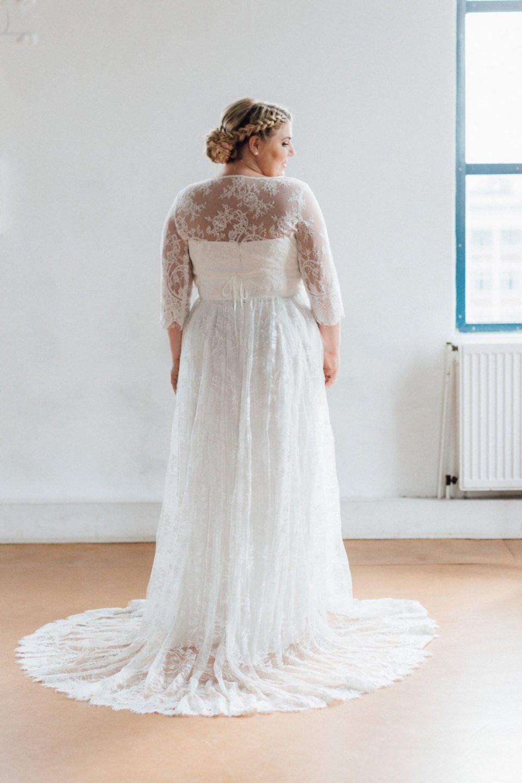 Brautkleider Größe 48 50 52 Carmen Rücken