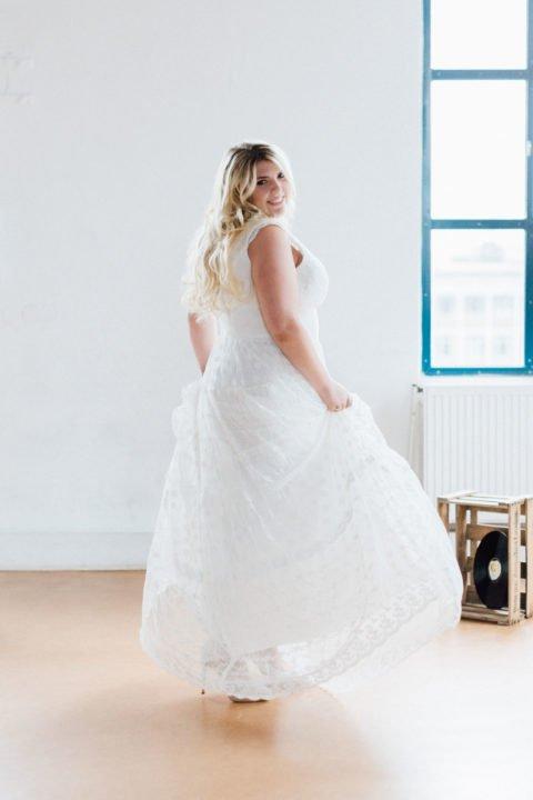 Brautkleider Größe 48 50 52 Dana
