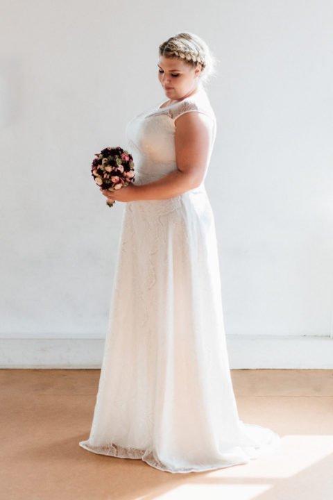 Brautkleider Größe 48 50 52 Nanette