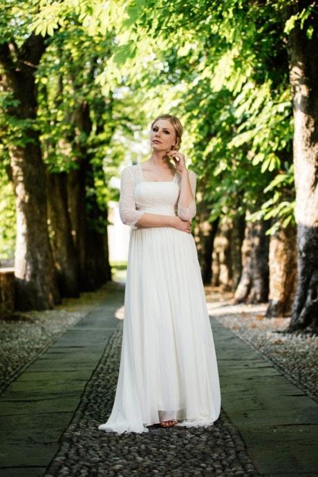 Hochzeitskleid 20er Jahre aus Seide – Faye