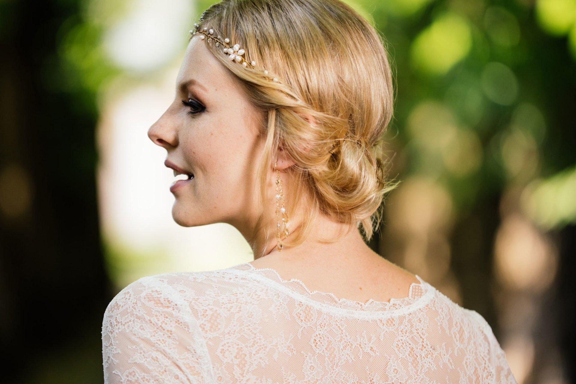 Hochzeitskleid 20er JahreRückenansicht