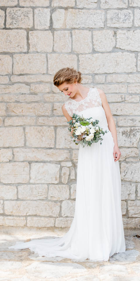 Hochzeitskleid Faye Seide