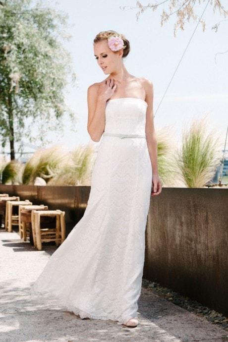 Hochzeitskleid A-Linie aus Spitze – Kate