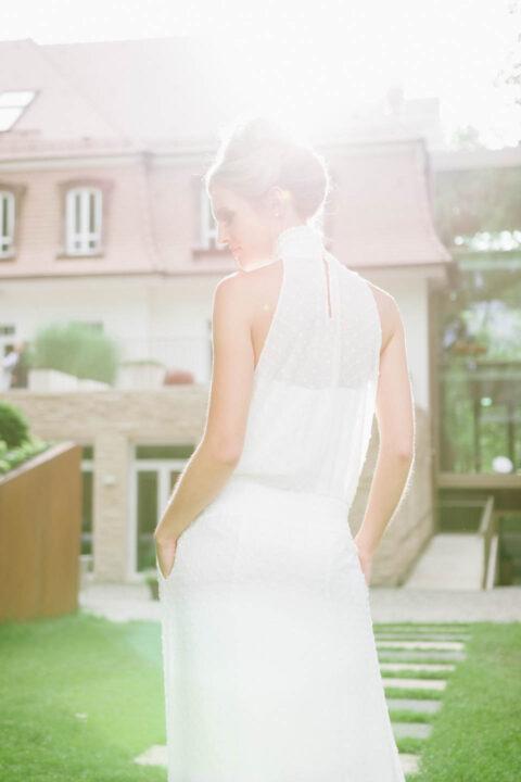 Brautkleid mit Taschen