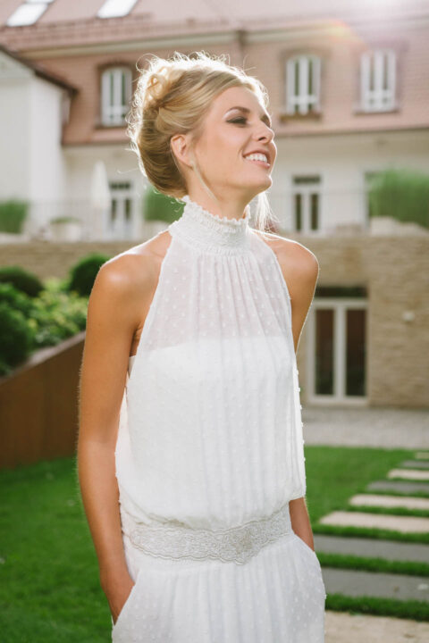 New Boho Brautkleid mit Nummer