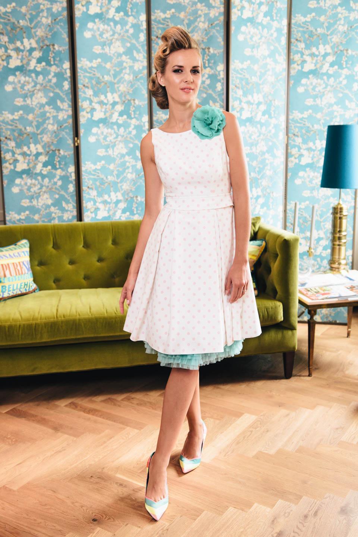 Rockabilly Hochzeitskleidmit Petticoat