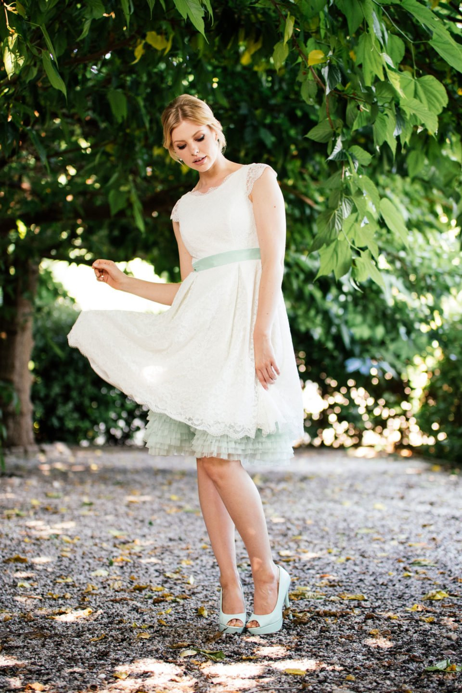 Rockabilly Hochzeitskleid - mit Taschen