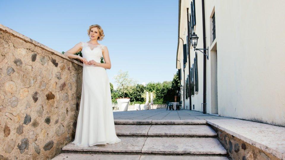 Sexy Brautkleid mit Herzausschnitt