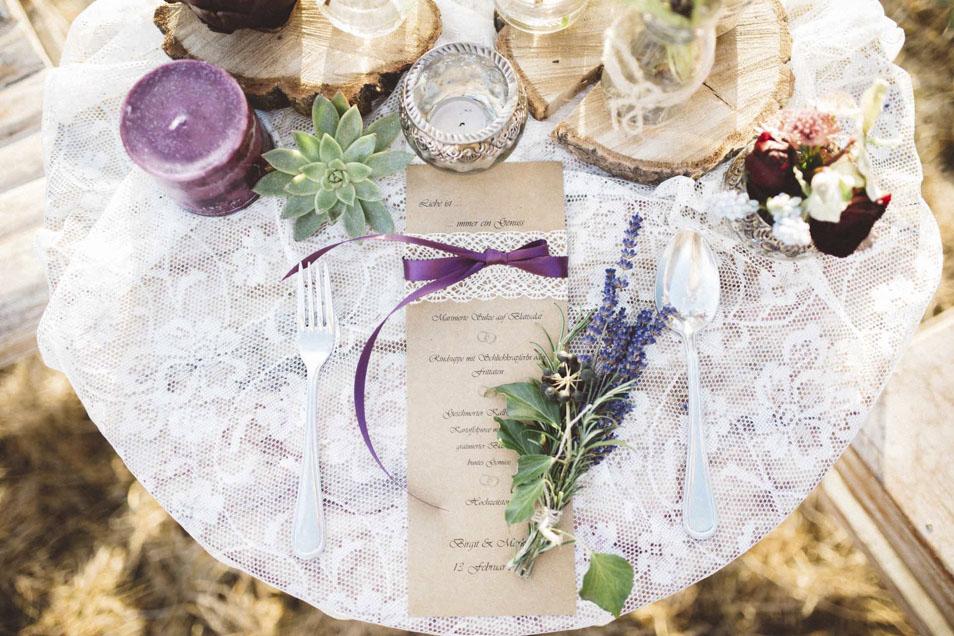 Papeterie zur Boho Hochzeit