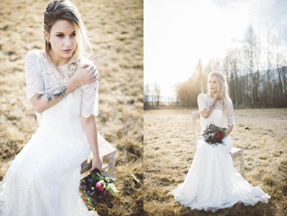 Portrait Bohemian Braut