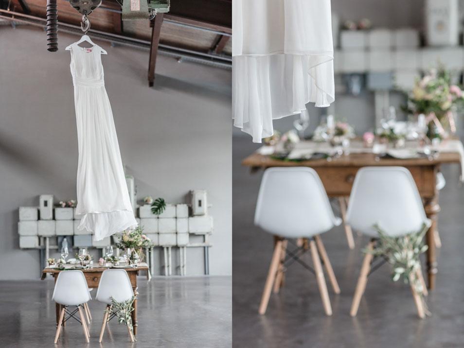moderne Hochzeit cooles Ambiente