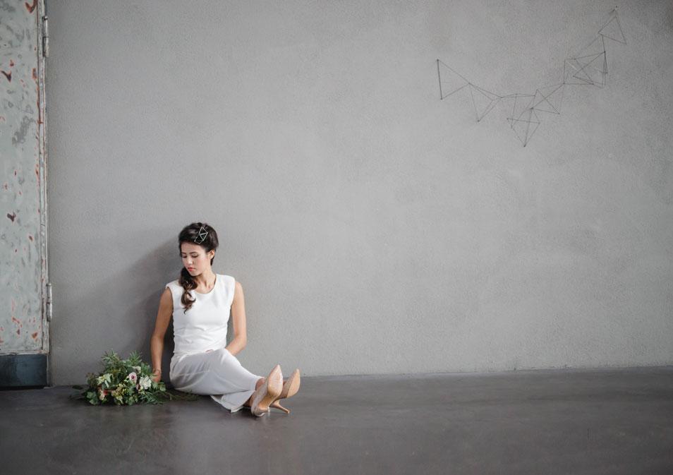 Hochzeit in modernem Ambiente