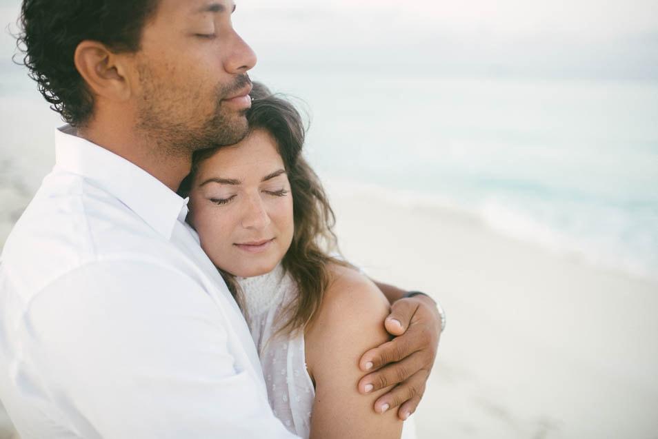 verträumt romantische Hochzeit am Meer