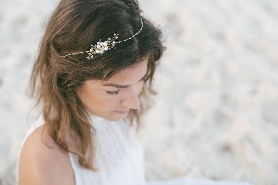 Braut Kopfschmuck von Juvelan