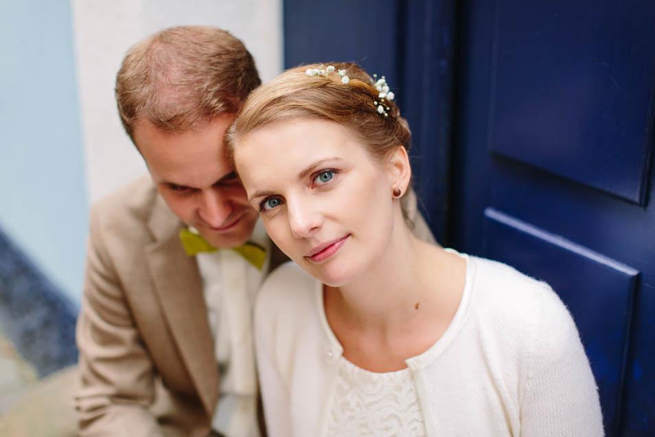 zarter Kopfschmuck für die Braut
