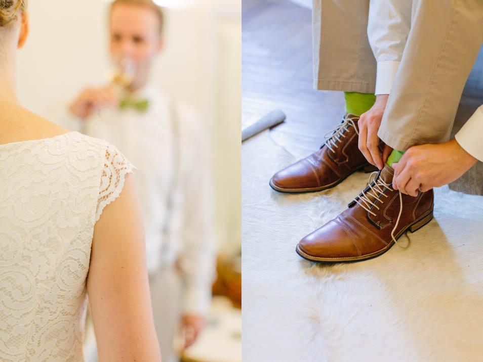 gleich gehts los vor der Hochzeit