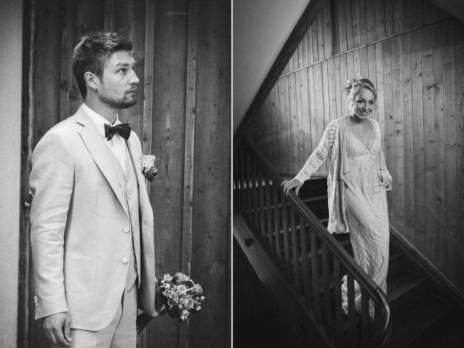 Spannung vor dem ersten Aufeinandertreffen vor der Hochzeit