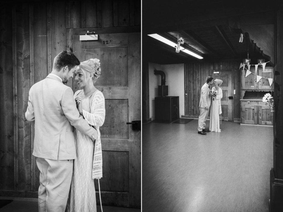 Brautkleid sieht dich zum ersten mal