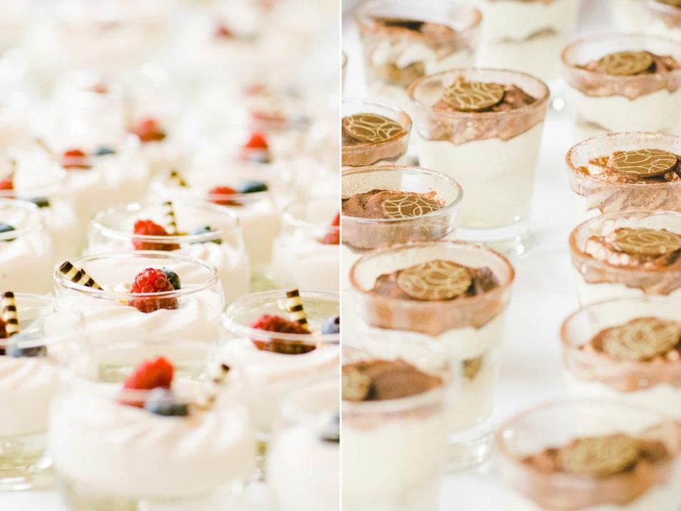 Desert zur Hochzeit