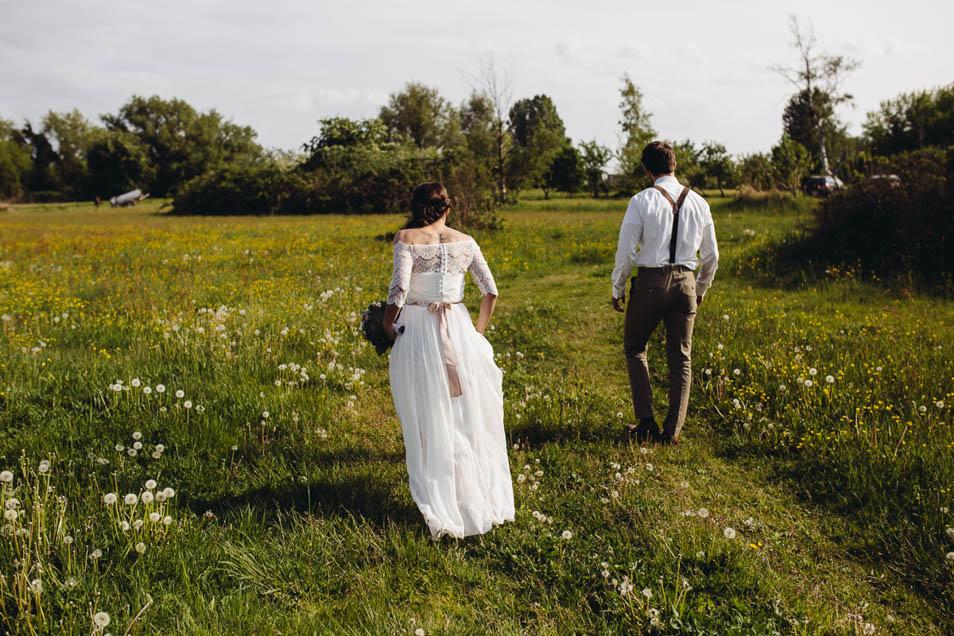 Brautkleid Style Rückenansicht