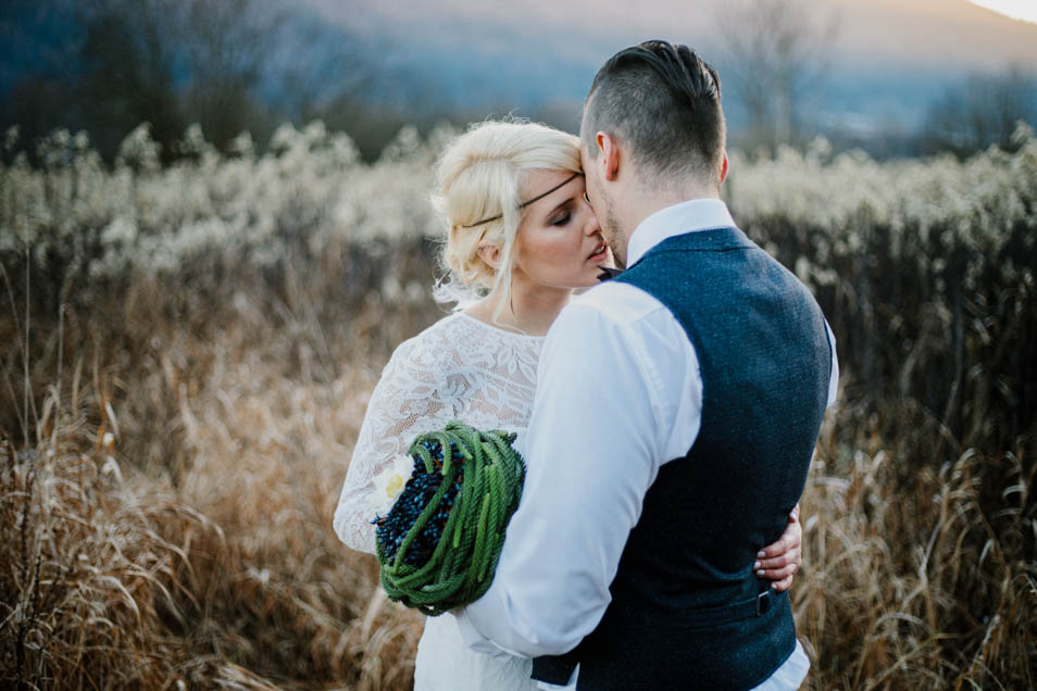 verliebte Braut