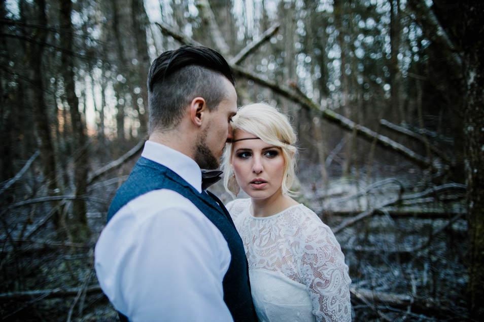 Brautkleid in wundervoller Spitze