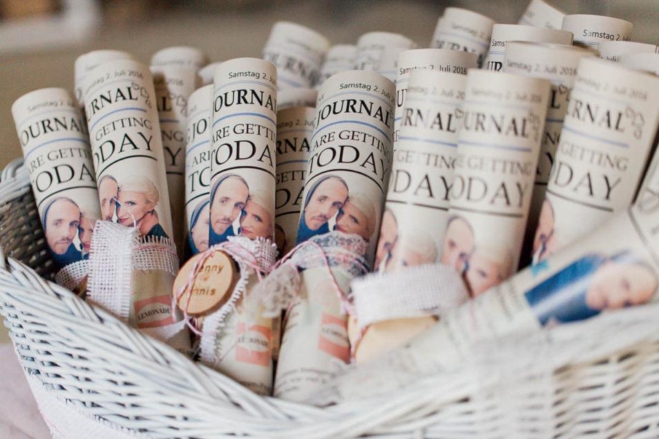Vintage Hochzeitsjournal