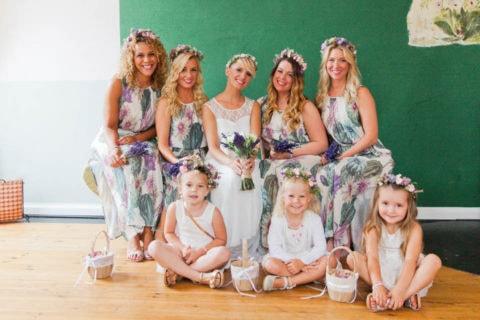 Vintage Wedding Wochenende mit freier Trauung im Schmetterlingsgarten