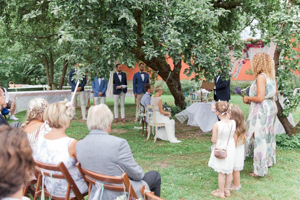 vintage wedding freie Trauung