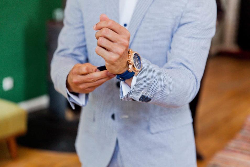 Uhr für den Bräutigam
