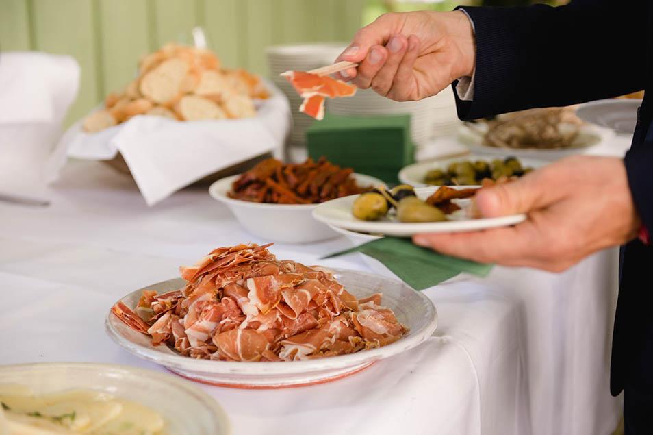 Parmaschinken Hochzeit