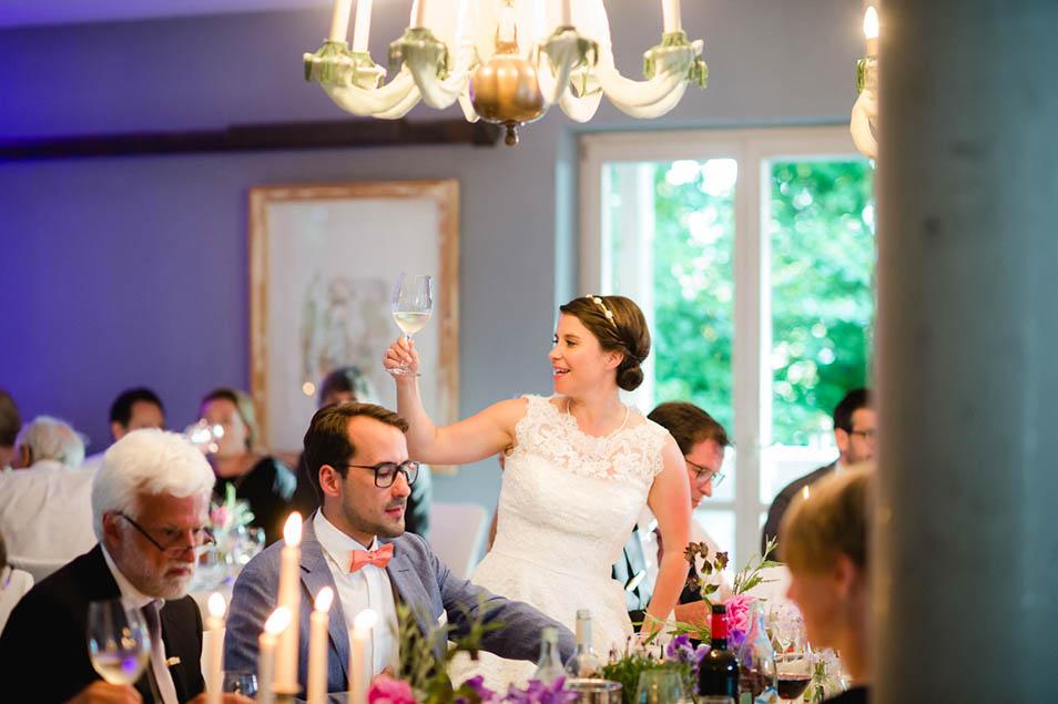 Rede der Braut zur Hochzeit