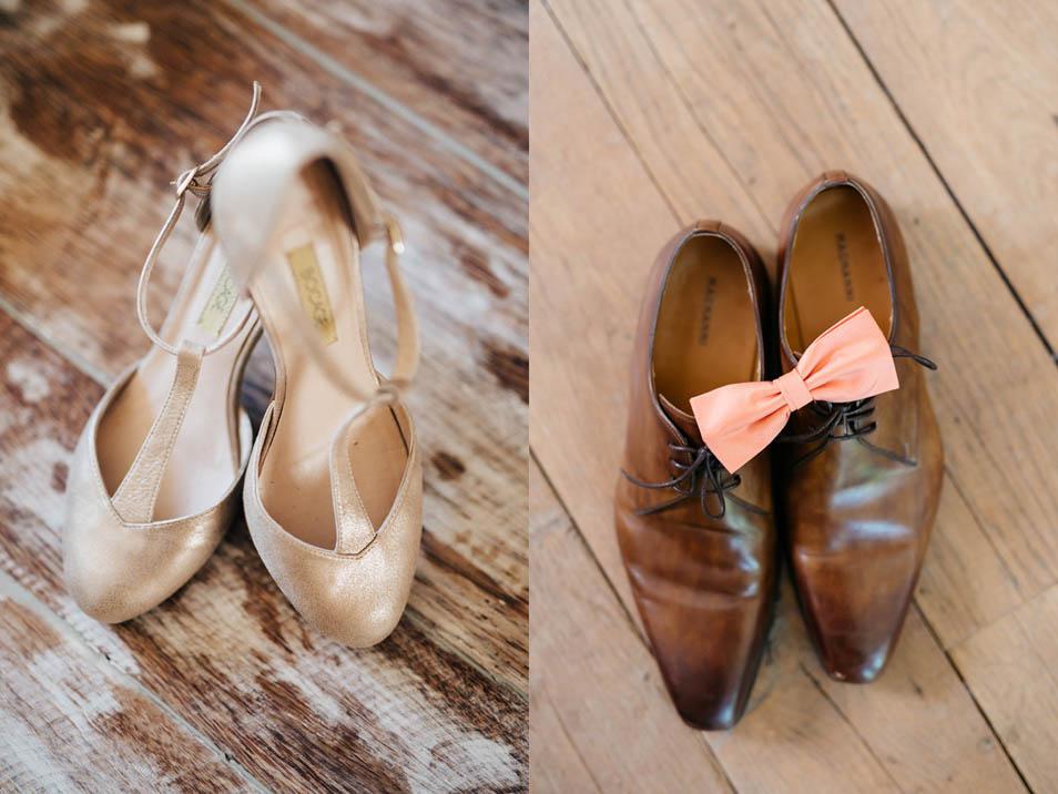 Brautschuhe und Bräutigamschuhe