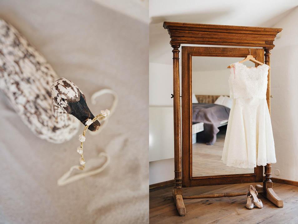 Brautkleid für Hochzeitsparty