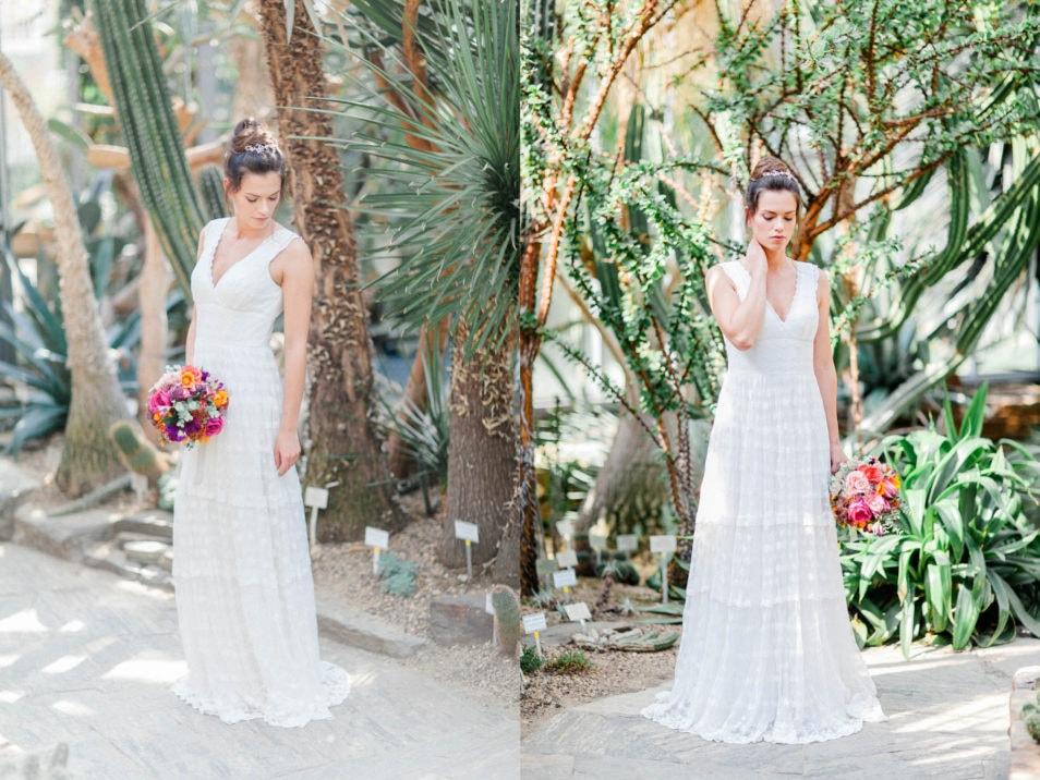 Bohemian Hochzeitskleid Dana